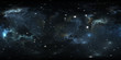 Leinwanddruck Bild - 360 degree space nebula panorama, equirectangular projection, environment map. HDRI spherical panorama. Space background with nebula and stars