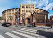 Leinwandbild Motiv Exterior Plaza de Toros, Murcia, Spain
