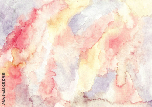 obraz PCV vintage abstract watercolor texture background