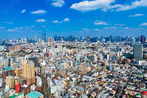 (東京都-都市風景)展望ラウンジから望む芝方面の風景3
