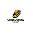 Crash testing dummy Logotype