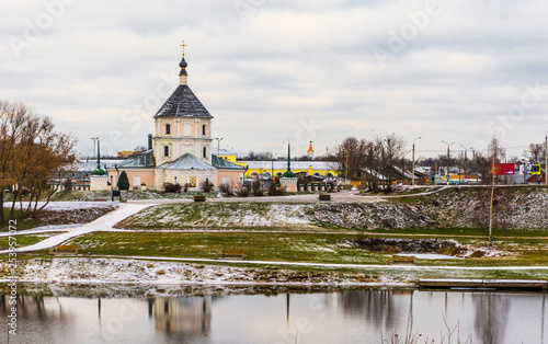 Foto Murales Church of the Intercession of the Mother of God, Tver, Russia.
