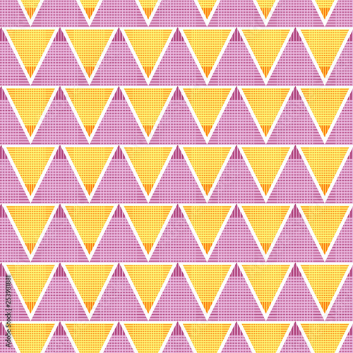 obraz PCV Seamless geometric pattern of triangles. Abstract geometric background.