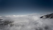 beautiful winter mountain landscape form a drone - 253992091