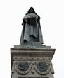 statue of the Italian friar called GIORDANO BRUNO was burnt aliv