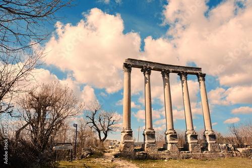 uzuncaburc ancident city in Turkey