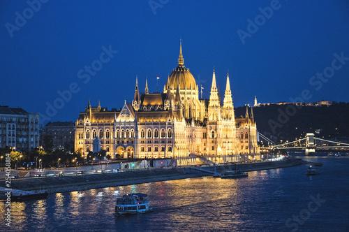 obraz PCV Budapest parliament building