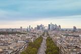 Fototapeta Paryż - Paris- Vue aérienne © L.Bouvier