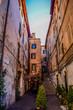 Narrow Side Street in Rome
