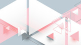 Abstract geometric triangles minimal style background