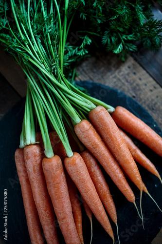 Still Life with fresh Carrots © Nailia Schwarz