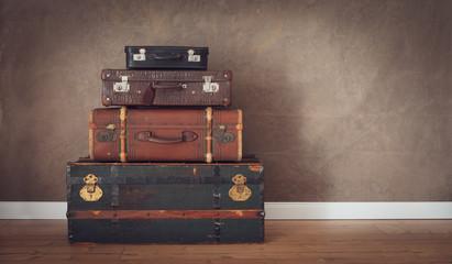 vintage travel themes background