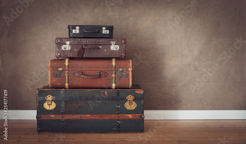 canvas print picture vintage travel themes background