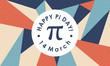 Happy Pi Day. Celebrate Pi Day. March 14th. 3.14 - Vector