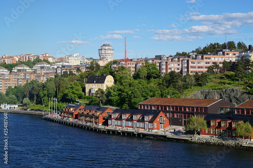 stadt stockholm - 254187641