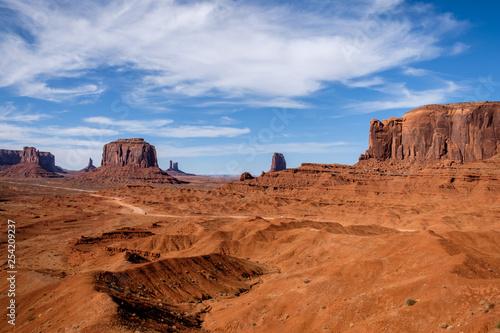 Monument Valley (Arizona and Utah, USA)