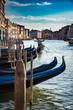 Venecia Italia, ciudad del amor y las gondolas.