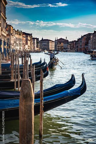 obraz PCV Venecia Italia, ciudad del amor y las gondolas.