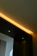 downlight of led warm light interior decoration in home