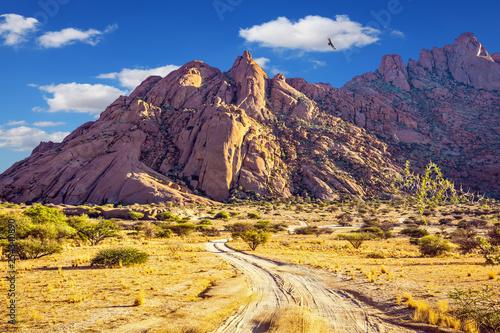 Rocks in the Spitskoppe desert - 254340890