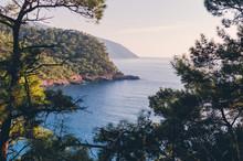 "Постер, картина, фотообои ""Kabak at Mediterranean sea near Fethiye,Turkey"""