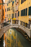 canal with bridge, Venice in Italy