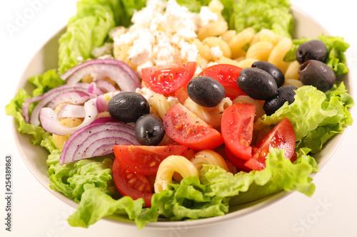 mixed vegetable salad - 254389863
