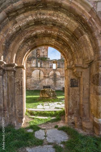 Ruins of the monastery of Santa María de Moreruela was a monastery belonging to the Cistercian order (Zamora, Spain)
