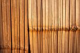 Bamboo wall texture.