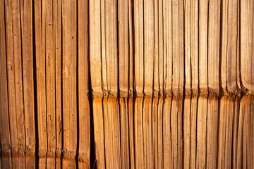 Bamboo wall texture.  © Sachchakorn