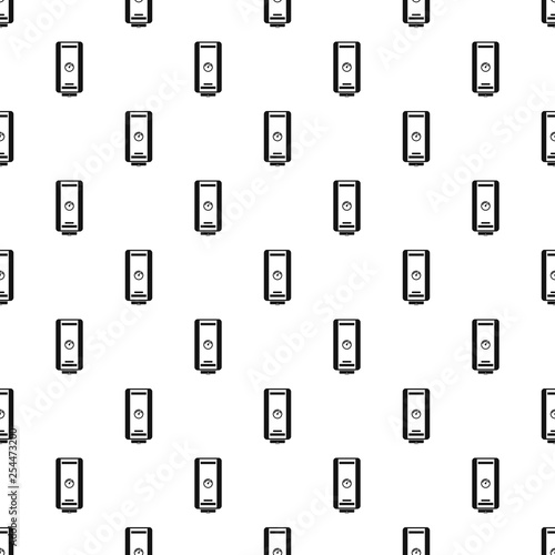 Eco boiler pattern seamless vector repeat geometric for any web design © anatolir