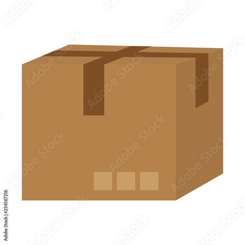 delivery cardboard box