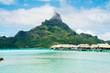 Leinwandbild Motiv Bora Bora, French Polynesia (Tahiti)