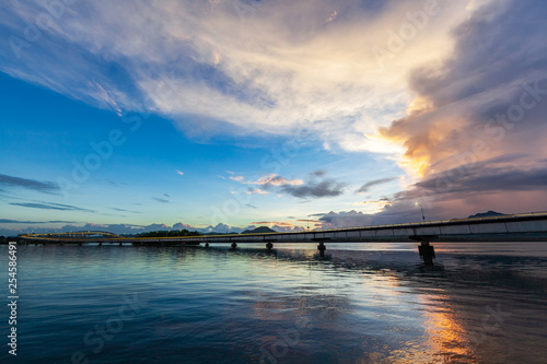 San Juanico Bridge by daylight - 254586491