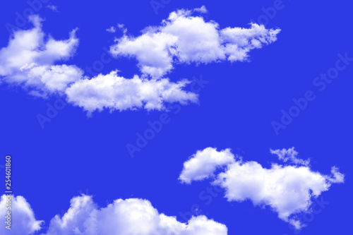 obraz PCV The vast blue sky and clouds sky. blue sky background with tiny clouds.