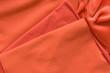 Red knitwear velours
