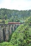 Nine arch bridge in Ella in Sri Lanka
