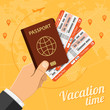 Vacation Travel and Tourism Concept