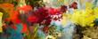 malerei texturen abstrakt querformat - 254674652