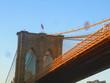 tower of brooklyn bridge in new york
