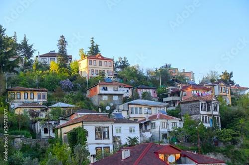 old trabzon houses turkey ( life style)  - 254720077