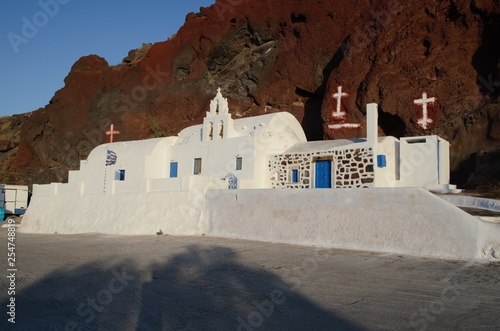 Orthodox church in Oia Santorini  © Patrick