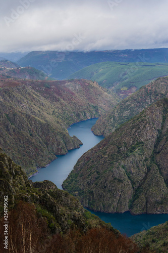Sil Canyon from the viewpoint of Cabezoas
