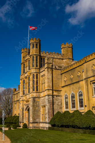 stately home  castle warwickshire midlands uk