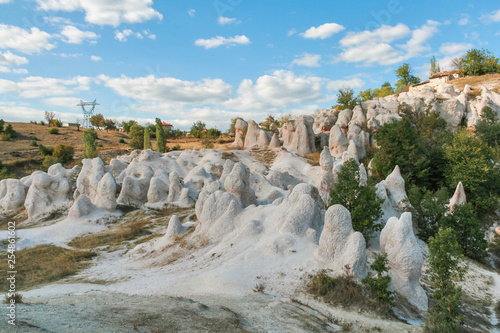 Rock Formation Stone Wedding near town of Kardzhali, Bulgaria - 254861602