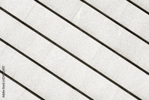 parallel lines of ganite stone - 254882407