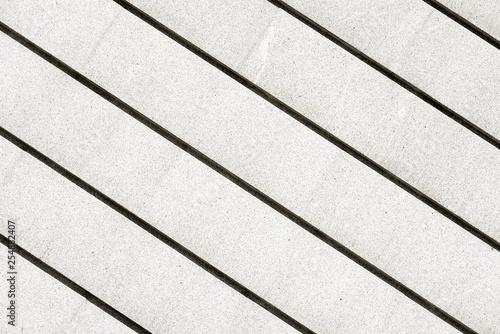 parallel lines of ganite stone - 254882407