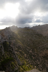 Mallorca landscape in mountains © antonburkhan