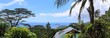 Beautiful and stunning high resolution panorama of landscape views on the Seychelles island - 254933055