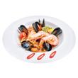 salad with seafood - 254936645
